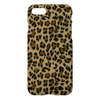 Leopard Print Glossy Finish iPhone 7 Case