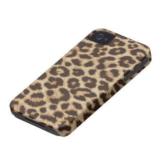 Leopard Print iPhone 4/4S Case Mate Case