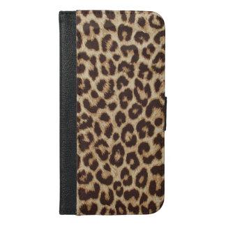 Leopard Print iPhone 6 Plus Wallet Case