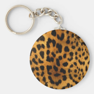 leopard-print key ring