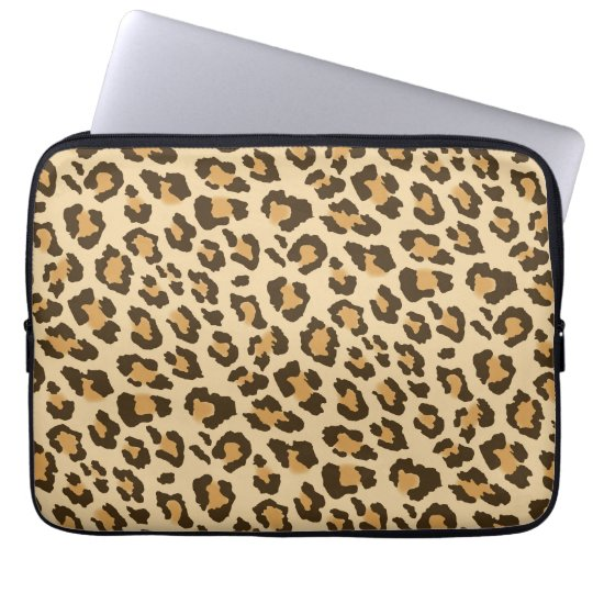 Leopard Print Laptop Sleeve