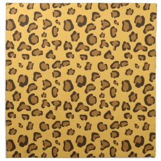 Leopard Print Look-like Pattern Napkin