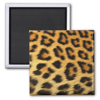 Leopard Print Refrigerator Magnet