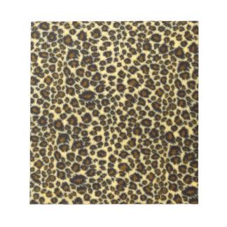 Leopard Print Notepad