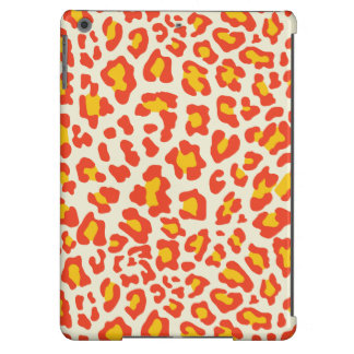 Leopard Print Orange, Yellow, White Case For iPad Air