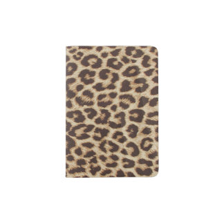 Leopard Print Passport Holder