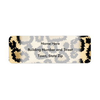 Leopard Print Pattern, Brown and Black.