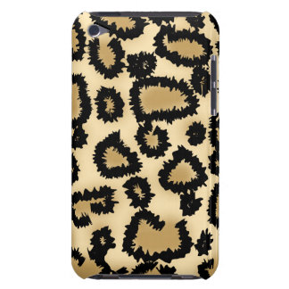 Leopard Print Pattern, Brown and Black. Barely There iPod Case
