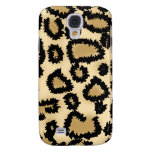 Leopard Print Pattern, Brown and Black. Samsung Galaxy S4 Case