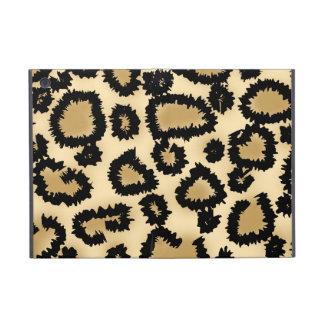 Leopard Print Pattern, Brown and Black. Cover For iPad Mini