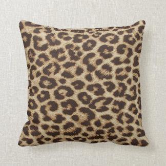 Leopard Print Pillow Throw Cushions
