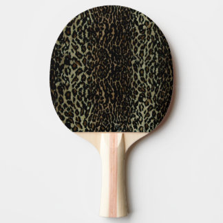 Leopard Print Ping Pong Paddle