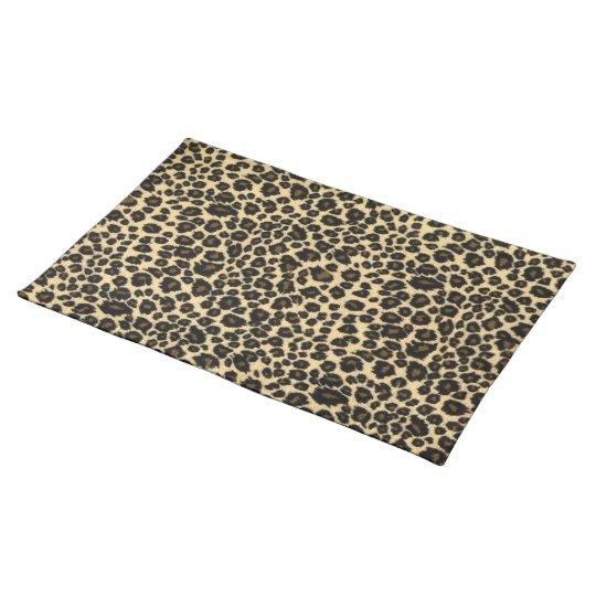 Leopard Print Place Mat