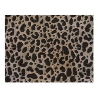 Leopard Print Postcard