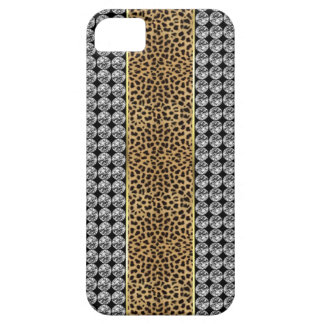 Leopard Print Rhinestone Iphone barely There case iPhone 5 Cases