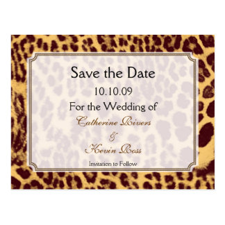Leopard Save The Date Gifts T Shirts Art Posters