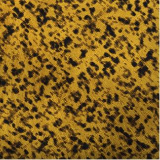 Leopard Print Standing Photo Sculpture