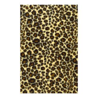 Leopard Print Stationery