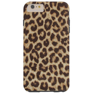 Leopard Print Tough iPhone 6 Plus Case