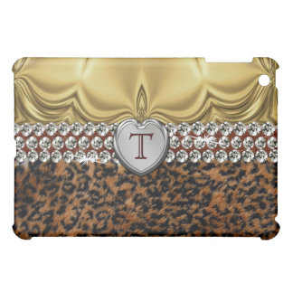 Leopard Print With Bling iPad Case