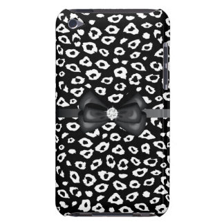 Leopard Print with Bow iPod Touch Cases