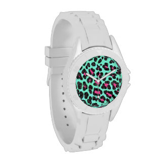 Leopard Print Wrist Watches