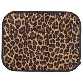 Leopard Print Car Mat
