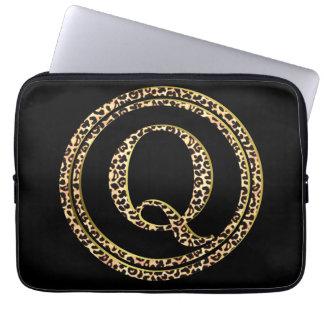 Leopard Q Laptop Sleeve