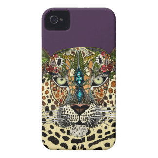 leopard queen iPhone 4 case