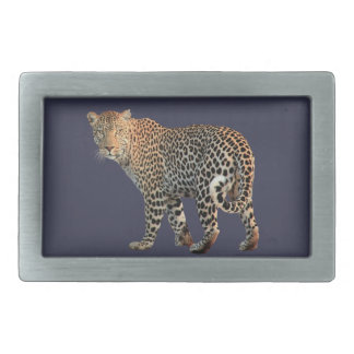 Leopard Rectangular Belt Buckles