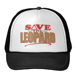 Leopard Save Cap