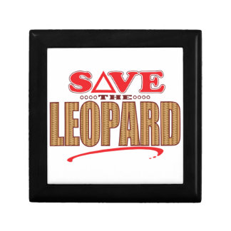 Leopard Save Gift Box