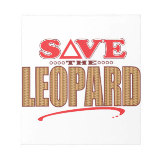 Leopard Save Notepad