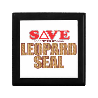 Leopard Seal Save Gift Box