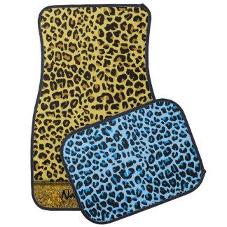 Leopard Skin A&B Options Floor Mats Floor Mat