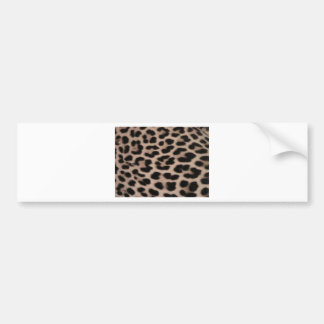 Leopard Skin background Bumper Sticker