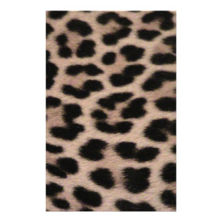Leopard Skin background Stationery