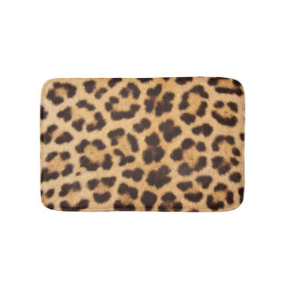 Leopard Skin Bath Mat