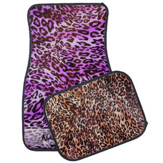 Leopard Skin C&D Options Floor Mats Car Mat