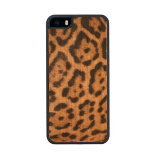 Leopard Skin Cell Phone Case Carved® Cherry iPhone 5 Case
