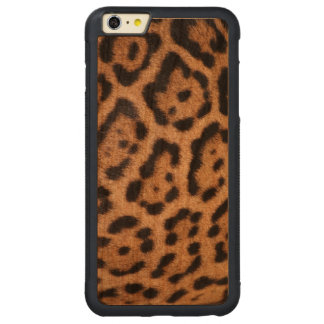 Leopard Skin Cell Phone Case Carved® Cherry iPhone 6 Plus Bumper Case