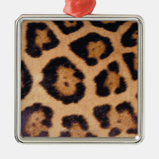 Leopard skin christmas ornament