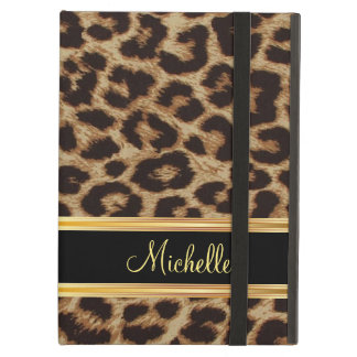 Leopard Skin Girly Pattern iPad Covers