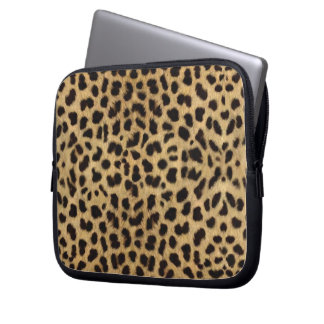 Leopard Skin Laptop Sleeve