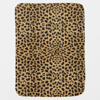 Leopard Skin Pattern Baby Blanket