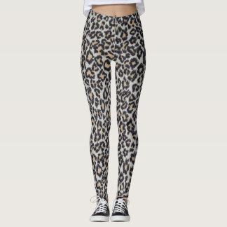 Leopard Skin Pattern Leggings