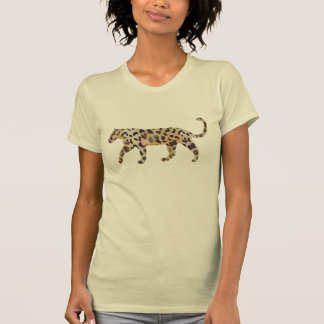 Leopard Skin Print  in Natural Ivory Tee Shirts