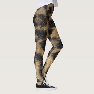 Leopard Skin Print Leggings