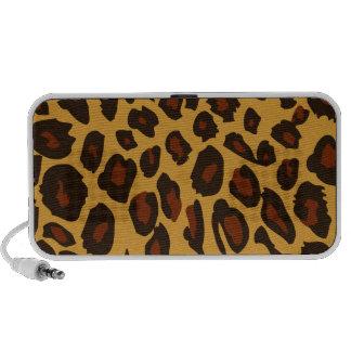 Leopard Skin iPod Speakers