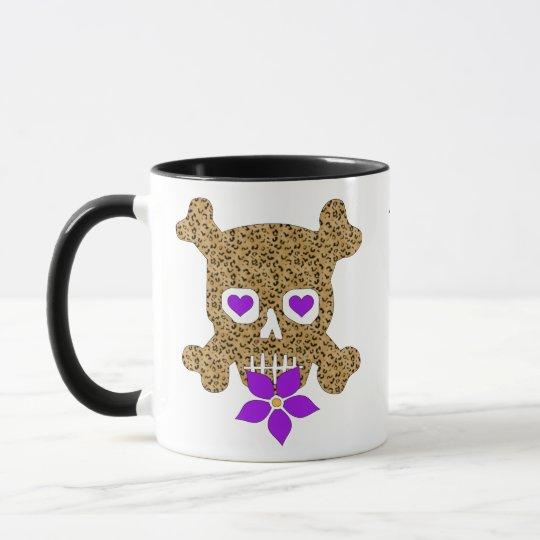 Leopard Skin Valentine Mug